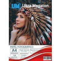 Papel Fotográfico Matte Adesivo A4 108G 20 Folhas