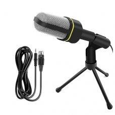 Microfone Condensador com Tripé QY-920 Andowl