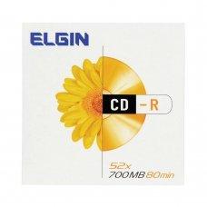 Mídia de CD-R 700 Mb 52x Envelope 82053 Elgin