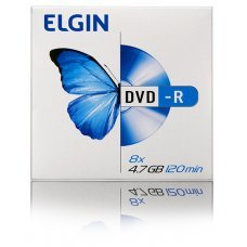 Mídia de DVD-R 4.7 GB 120 min Envelope 82099 Elgin