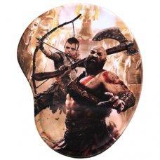 Mouse Pad com Apoio Ergonômico God of War