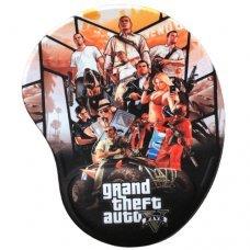 Mouse Pad com Apoio Ergonômico Grand Theft Auto V