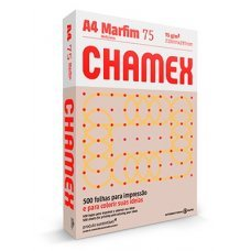 Papel A4 75g Chamex Colors Marfim 500 Folhas