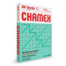 Papel A4 75g Chamex Colors Verde 500 Folhas