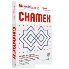 Papel A4 75g Chamex Eco Reciclado 500 Folhas
