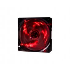 Cooler para Gabinete 120x120x25 4 Leds Vermelho F10 Oex