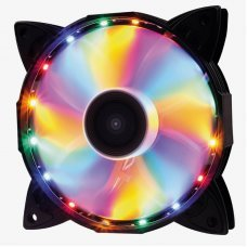 Cooler para Gabinete 120x120x25 16 Leds 4 cores F30 Oex