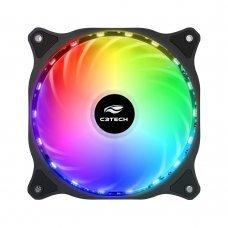 Cooler para Gabinete 120x120x25 18 Leds RGB F9 L150RGB C3 Tech