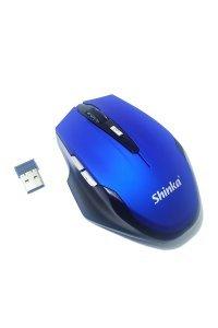 Mouse USB Wireless 1600Dpi Azul E1900 Shinka