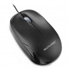 Mouse USB 1200Dpi Preto MO255 Multilaser