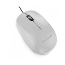 Mouse USB 1200Dpi Branco MO294 Multilaser