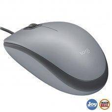 Mouse optico m110 Silient Cinza USB Logitech