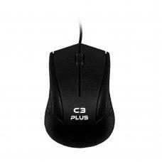 Mouse USB 1000Dpi Preto MS27BK C3 Plus