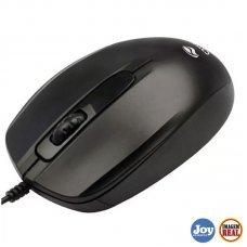 Mouse USB Óptico MS-30BK 1000Dpi Preto
