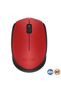 Mouse USB Wireless 1000Dpi Vermelho M170 Logitech