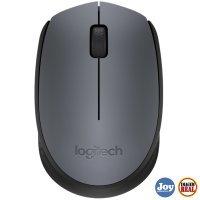 Mouse USB Wireless Logitech M170 1000Dpi Preto