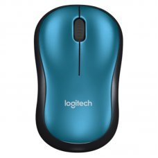Mouse USB Wireless Logitech M185 1000Dpi Azul