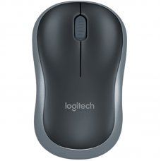 Mouse USB Wireless Logitech M185 1000Dpi Cinza