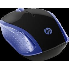 Mouse USB Wireless 1000Dpi Azul X200 HP