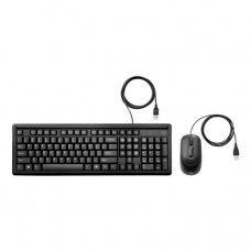 Teclado e Mouse USB com fio 6HD76AA HP