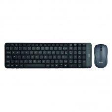 Teclado e Mouse Wireless TM404 Preto OEX