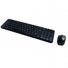 Teclado e Mouse Wireless Preto USB MK220 - Logitech