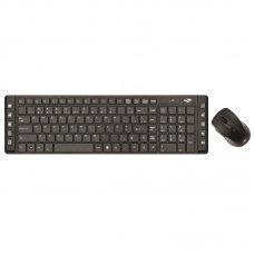 Teclado e Mouse Wireless Multimidia USB K-W50BK - C3 TECH