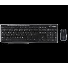 Teclado e Mouse Wireless MK270 Logitech