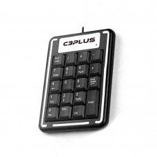 Teclado Numérico USB KN-11BK Preto C3 Plus