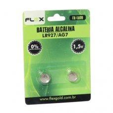 Pilha Alcalina LR927/AG7 FX-LR09 FLEX