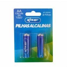 Pilha AA Alcalina com 2 KP-2900AA Knup