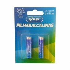 Pilha AAA Alcalina com 2 KP-2900AAA Knup