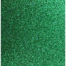 Placa de EVA com Glitter 400X480mm Verde