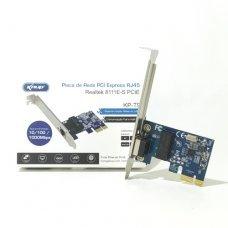 Placa de Rede PCI Expres 10/100/1000 Mbps Knup KP-T90