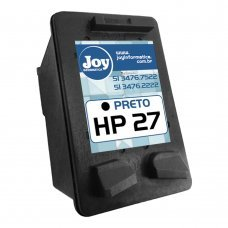 Recarga Cartucho HP 27 Preto 11ml