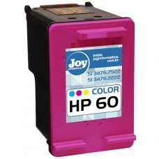 Recarga Cartucho HP 60 Color 6,5ml