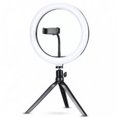 Ring Light de Mesa 10'' para Foto e Video 120 Leds