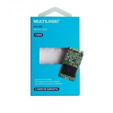 HD SSD 120GB M.2 2242 6 Gb/s SS104 Multilaser