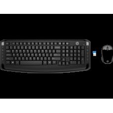 Teclado e Mouse Wireless 300 3ML04AA HP