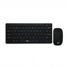Teclado e Mouse Wireless Ultra Slim TM405 Preto OEX