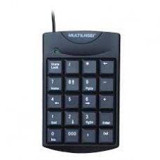 Teclado Numérico USB TC229 Preto Multilaser