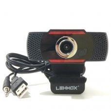 WebCam Full HD 1080p USB2.0 C/ Microfone LEY-52 LEHMOX