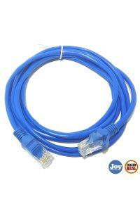 Cabo de Rede 5 Metros Cat6 Azul Plus Cable
