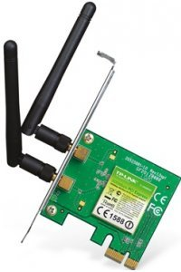Placa de Rede PCI Express Wireless N Adapter 300 Mbps Tp Link TL WN881ND
